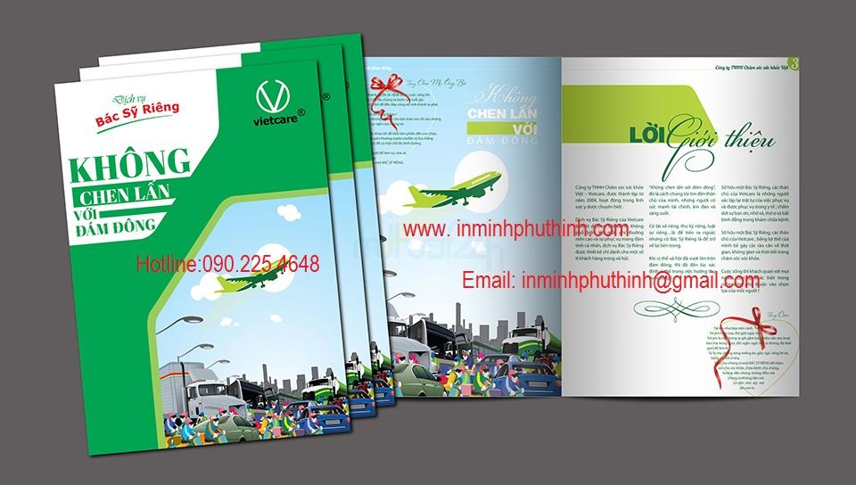Cơ sở in catalugue in brochure chất lượng giá rẻ