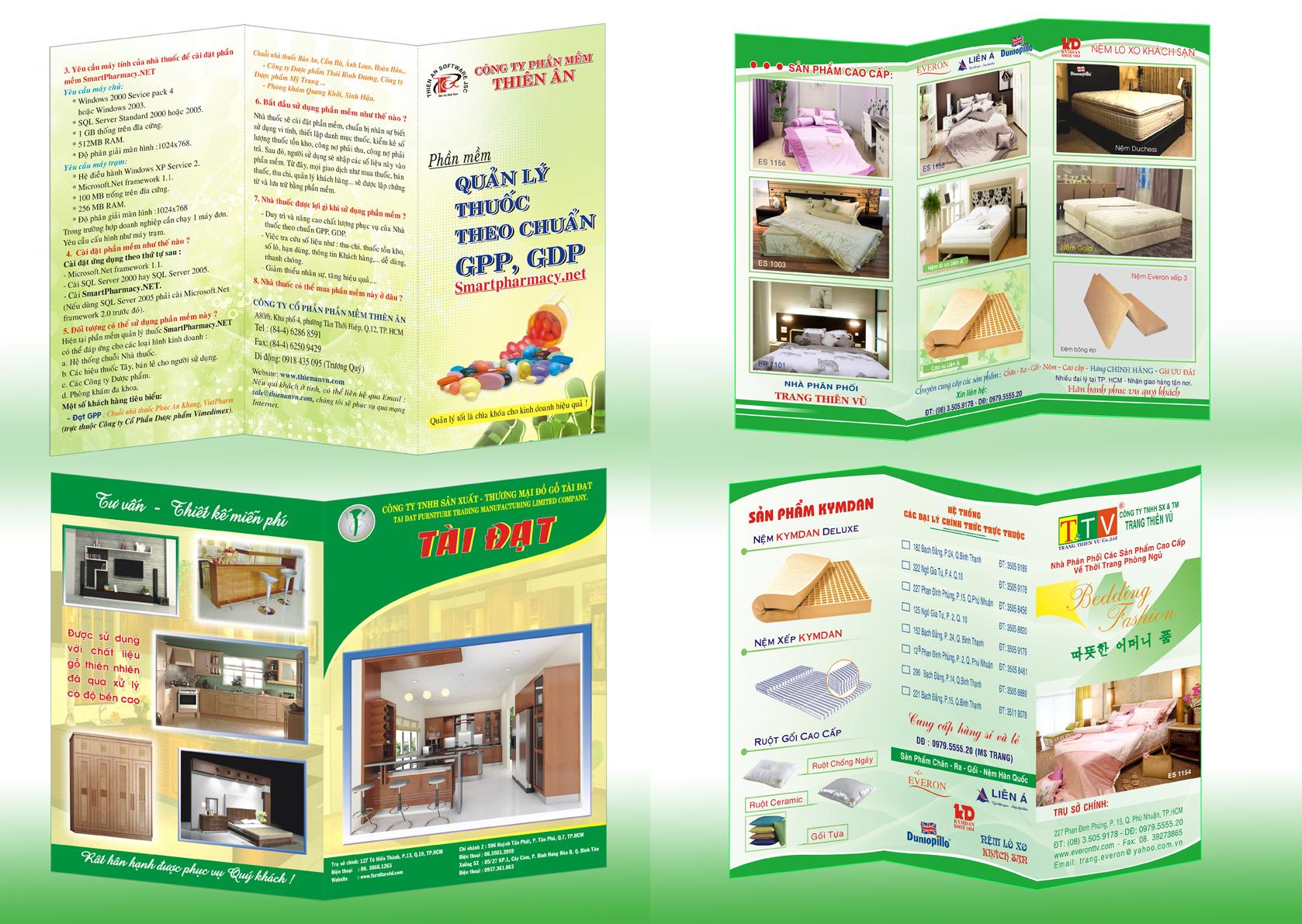 Cơ sở thiết kế và in brochure chuyên nghiệp