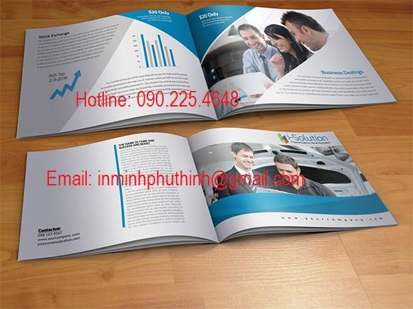 Dịch vụ in catalogue chuyên nghiệp giá rẻ.
