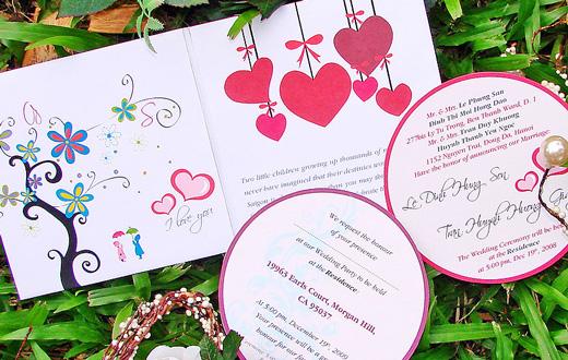 Nhận in thiệp mời thiệp cưới mẫu mã đẹp giá rẻ tại Hà Nội