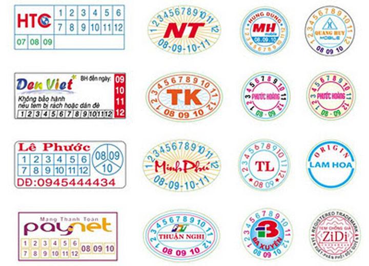 Cơ sở làm tem vỡ giá rẻ tại Hà Nội