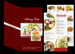 In Menu thực đơn nhà hàng lấy nhanh giá rẻ ở đâu Hà Nội