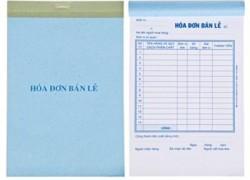 In hóa đơn bán hàng, in hóa đơn bán lẻ giá rẻ tại xưởng in Hà Nội