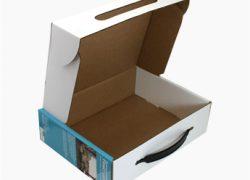 In hộp giấy, hộp duplex bồi sóng, hộp giấy cao cấp