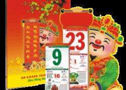 Cơ sở in lịch tết giá rẻ tại Hà Nội