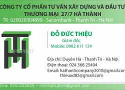 Địa chỉ in card visit giá rẻ lấy nhanh tại Hà Đông