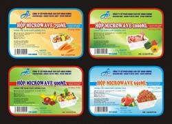 Cơ sở in tem decal giấy  thực phẩm giá rẻ| In Minh Phú Thịnh