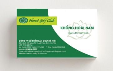In Name Card visit giá rẻ tại quận Cầu giấy