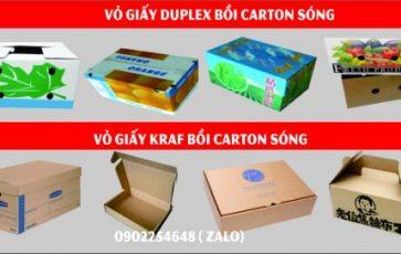 In Vỏ Hộp thùng carton giá rẻ ở đâu Hà Nội